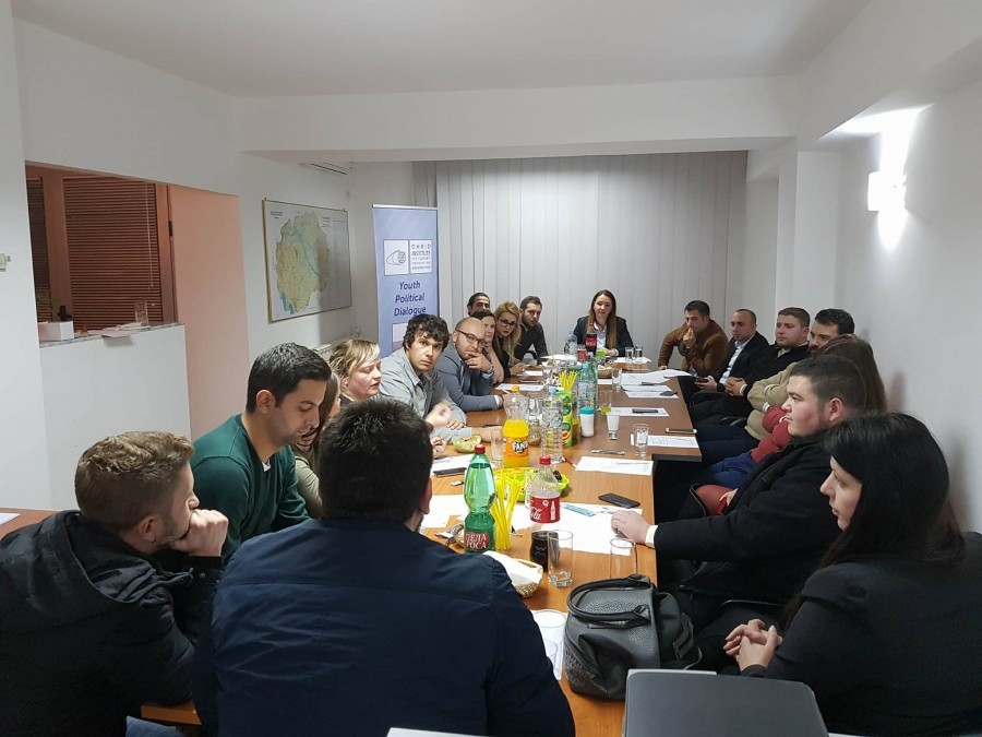 Лидерска средба меѓу подмладоците по повод Меѓународниот ден на толеранцијата
