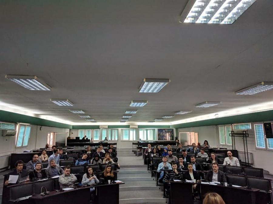 Одржана годишната седница на Младинскиот парламент