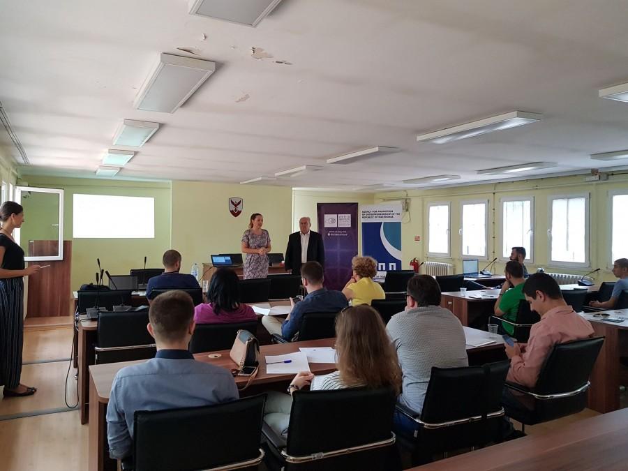 Започна серијата обуки за општествена одговорност и социјално претприемништво