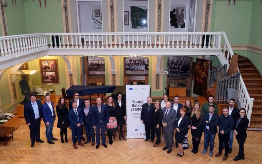 """Започна програмата """"Млади балкански лидери""""!"""