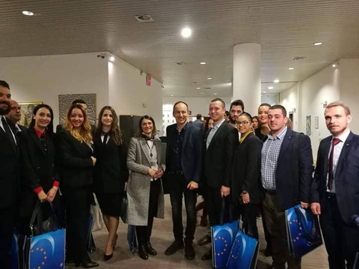 Институт Охрид во посета на Европскиот Парламент во Брисел