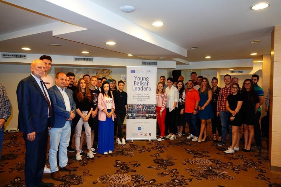 """Успешно го заокруживме и вториот модул од програмата """"Млади балкански лидери""""!"""