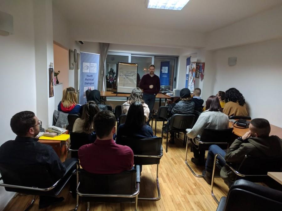 Четврто предавање на Школата млади политичари